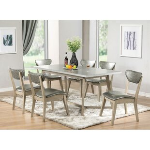 Minerva 7 Piece Extendable Dining Set by 17 Stories