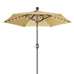 Latitude Run Hardman 6.5' Lighted Umbrella