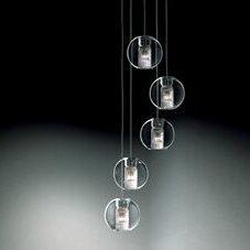 Brayden Studio Christy 5-Light Cluster Pendant