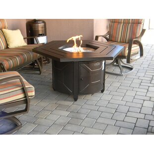Aluminum Propane Gas Fire Pit Table by AZ Patio Heaters Comparison