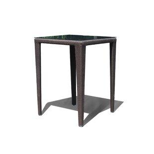 Jeremy Glass Bar Table by Mistana