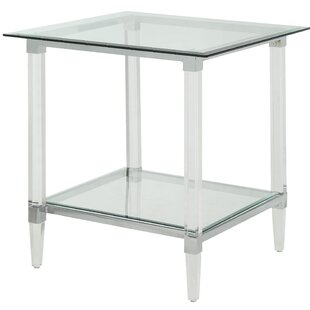 Salter End Table by Everly Quinn Sale