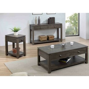 Sacks 3 Piece Coffee Table Set By Gracie Oaks