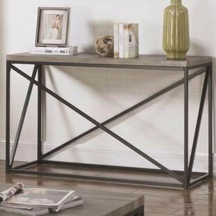 Alleman Industrial Minimal Console Table