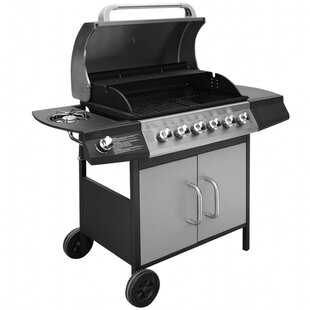 63.5cm Cooking Zone Portable Charcoal Barbecue By Symple Stuff