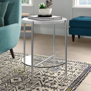 Carr Round End Table by Wr..