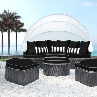 Solis Patio Sombra Daybed with Cushions