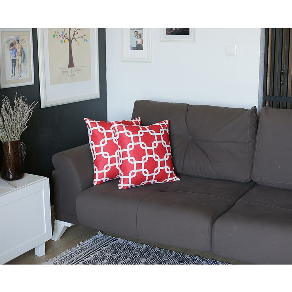 Apolena Lattice Square Pillow Cover Wayfair
