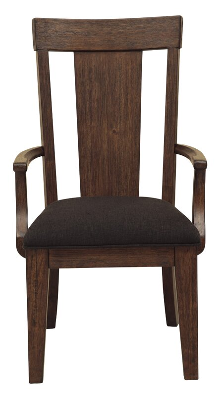 Gorgeous Wyckoff Upholstered Wood Dining Chair By Gracie