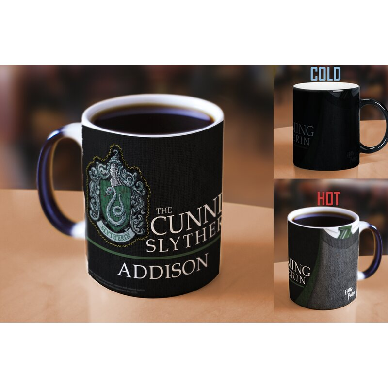Harry Potter Slytherin Robe Personalized Heat Sensitive Coffee Mug
