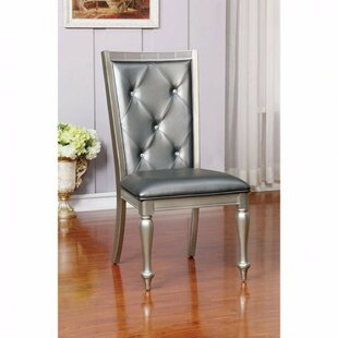 Brussels Upholstered Dining Chair (Set of 2) Rosdorf Park