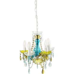 Nice 5 Light Chandelier by Château Chic