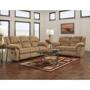 Jarvis Reclining 2 Piece Living Room Set