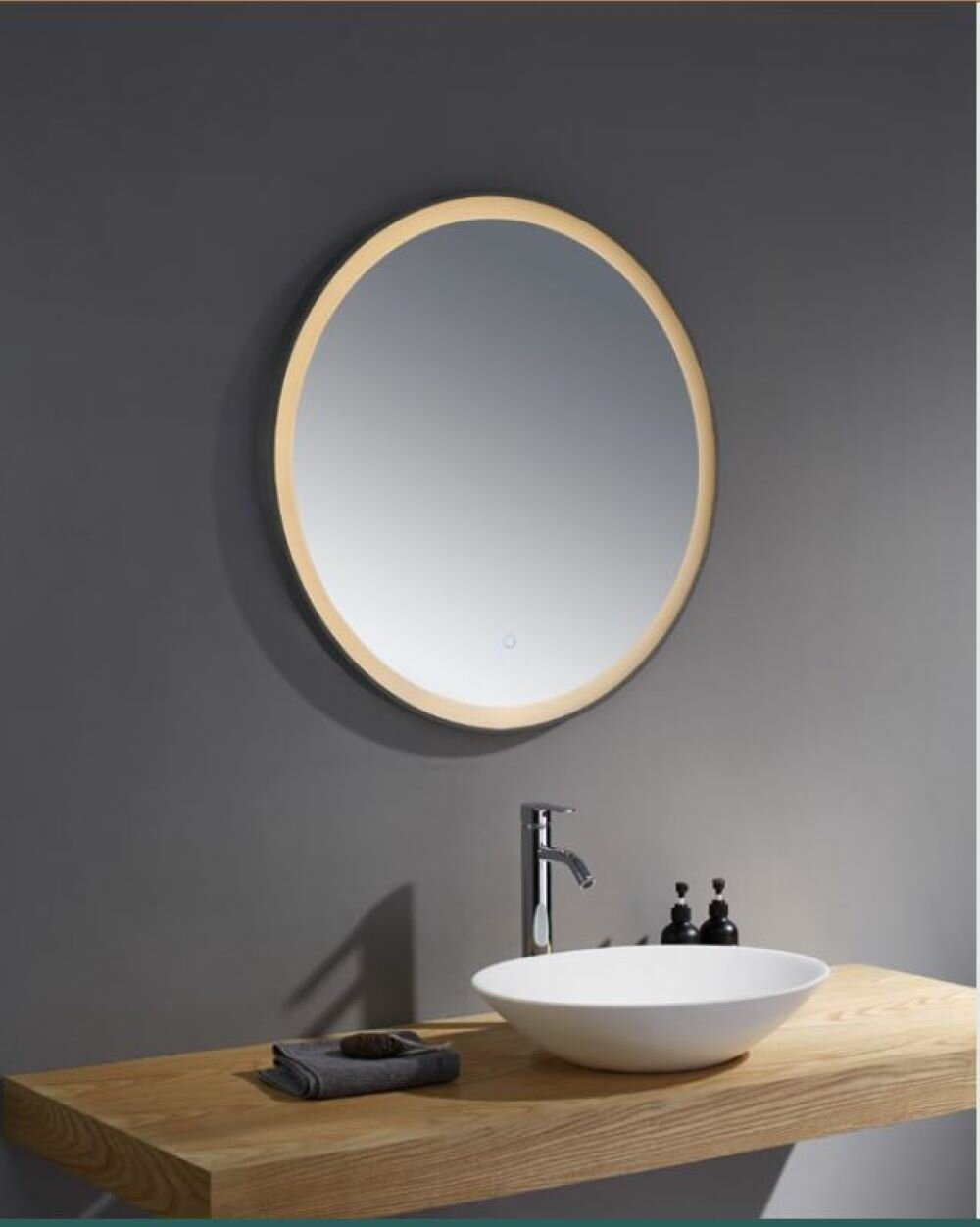 Metro Lane Bocanegra Fog Free Bathroom Mirror Wayfair Co Uk