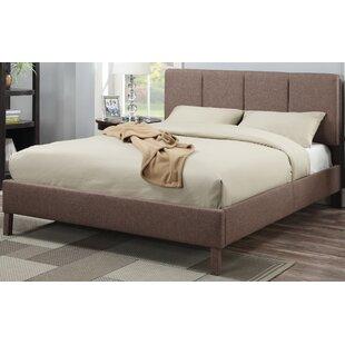 Latitude Run Kurz Upholstered Panel Bed