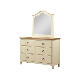 Shop For Millbrook 6 Drawer Double Dresser with Mirror by Panama Jack Home Reviews (2019) & Buyer's Guide