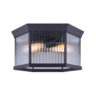 Rickards 2-Light Outdoor Flush Mount