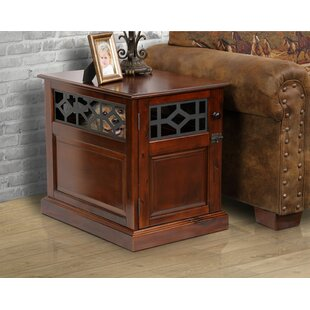 Standish End Table by Charlton Home