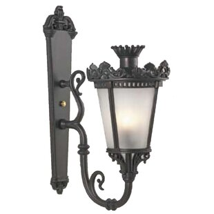 Order Phillipstown 1-Light Outdoor Sconce By Alcott Hill