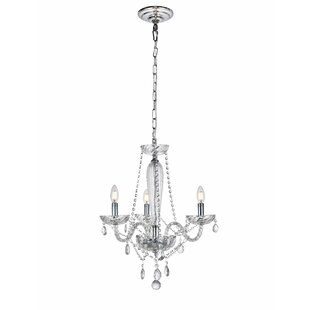 House of Hampton Osterley 3-Light Candle Style Chandelier