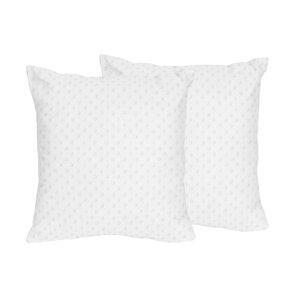 Minky Dot Throw Pillows (Set of 2)