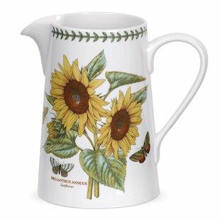 Botanic Garden Bella Sunflower 1.7 L Jug By Portmeirion