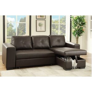 Leona Sleeper Sectional  sc 1 st  AllModern : sleeper sofas with chaise - Sectionals, Sofas & Couches