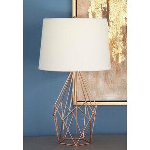 Chicken wire table lamps wayfair metal wire 23 table lamp greentooth Choice Image