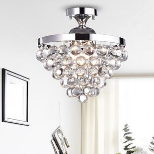 House of Hampton Braylon 4-Light Semi Flush Mount
