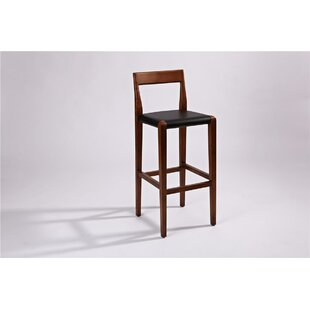 El Cerrito Solid Wood 26 Bar Stool Brayden Studio