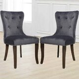 Olin Tufted Upholstered Side Chair (Set of 2) by Rosdorf Park