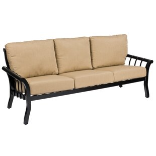 Rhyss Pation Sofa with Cushions by Woodard