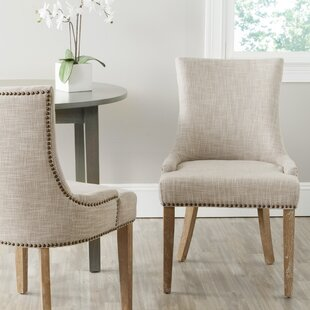 Janet Upholstered Dining Chair (Set of 2) Ophelia & Co.