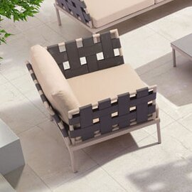 Brayden Studio Cianciolo Deep Seating Cha..