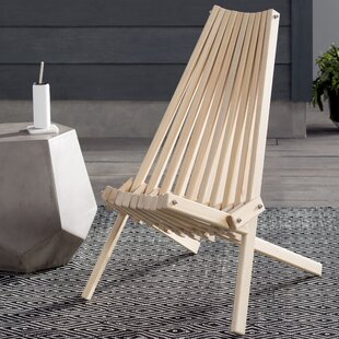 Hershy Way Solid Wood Folding Adirondack Chair