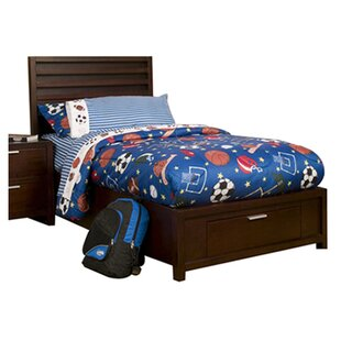Red Barrel Studio Garfield Platform Bed with Storage