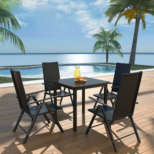 Avelines 4 Seater Dining Set By Sol 72 Outdoor