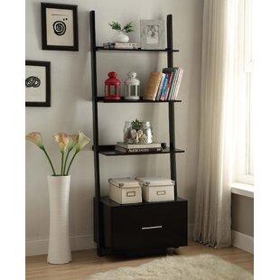 Carlucci Ladder Bookcase By Mercury Row