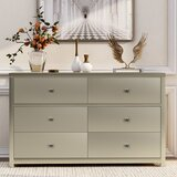 Holdsworth 6 Drawer Double Dresser by Everly Quinn