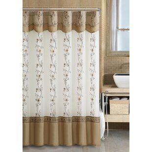 2ac3295cb0c Searcy Embroidered Semi-Sheer Single Shower Curtain