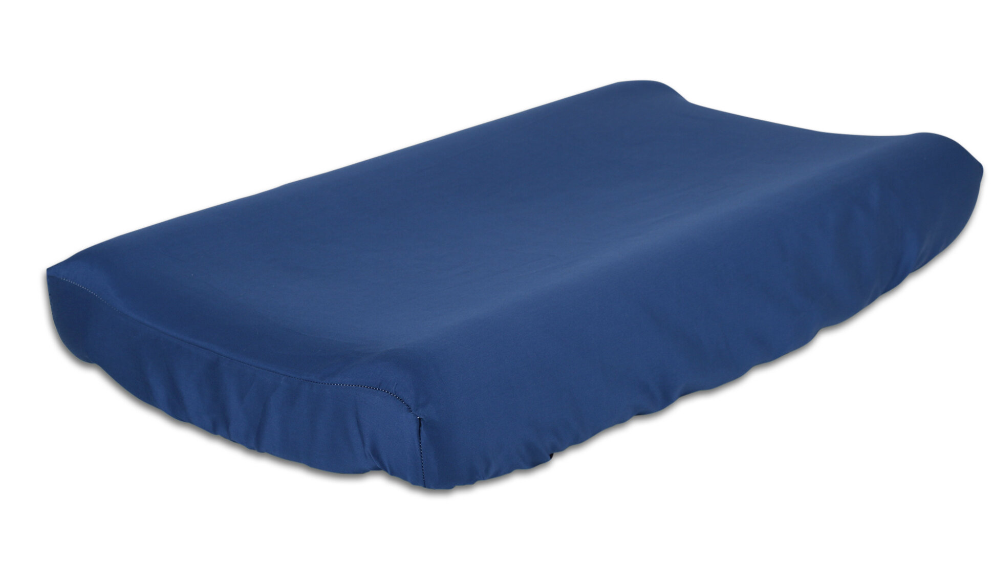 Changing Pad Cover//Navy//Light Blue//White Carters Be Brave