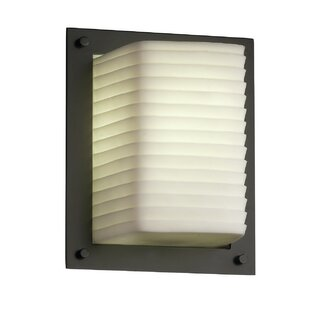 Reviews Thora 1-Light Framed Wall Sconce By Mistana