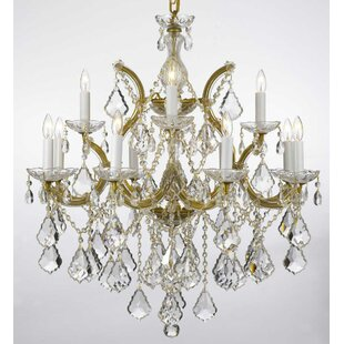 Keenum 13-Light Candle Style Chandelier by House of Hampton