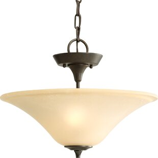 Red Barrel Studio Risha 2-Light Bowl Pendant