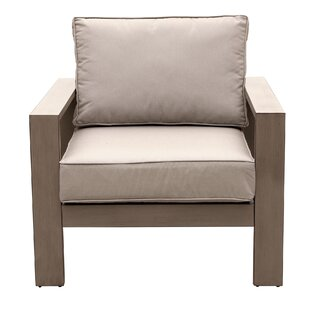 Orren Ellis Otega Patio Chair with Cushion