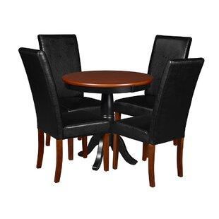 Magaw 5 Piece Dining Set (Set of 5)