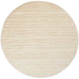 Connie Champagne/Cream Area Rug by Greyleigh