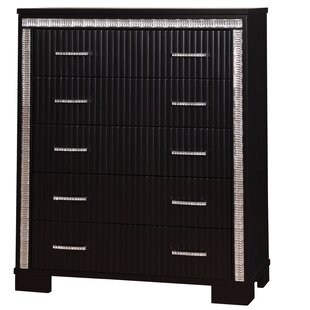 House of Hampton Viridian 5 Drawer Chest Image