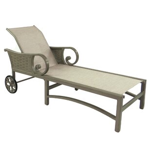 Leona Riviera Sling Chaise Lounge
