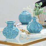 Tylor 3 Piece Table Vase Set (Set of 3)
